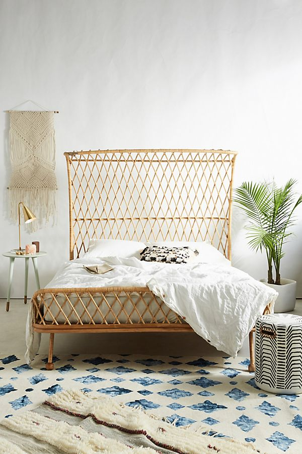 rattan furniture - bed 1