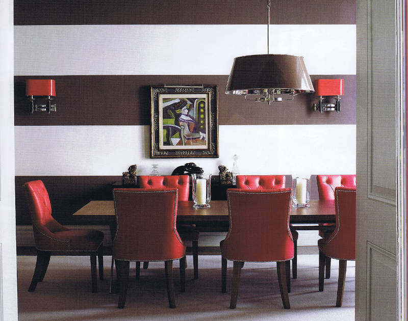 decorating with red