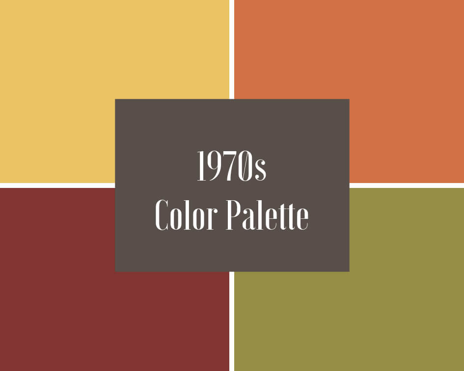 1970s paint colors
