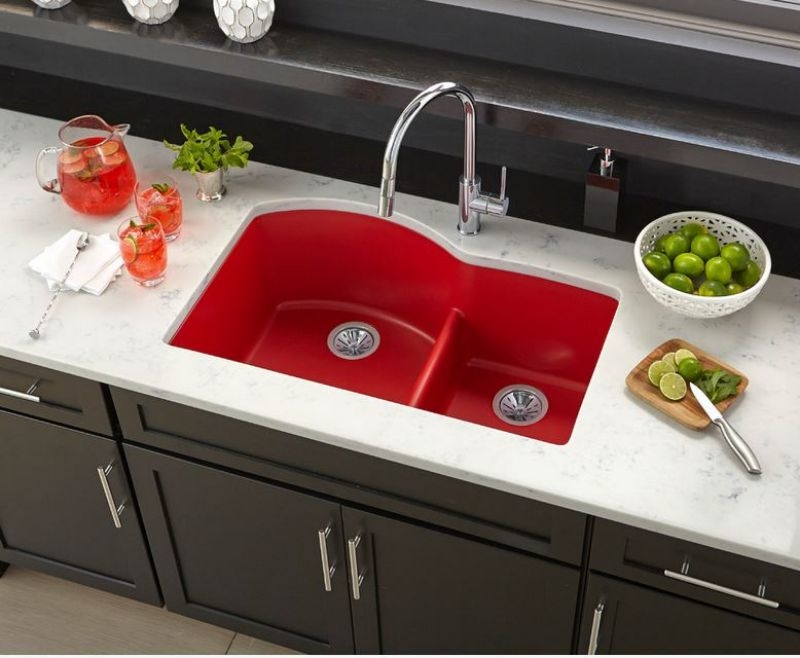 red sink