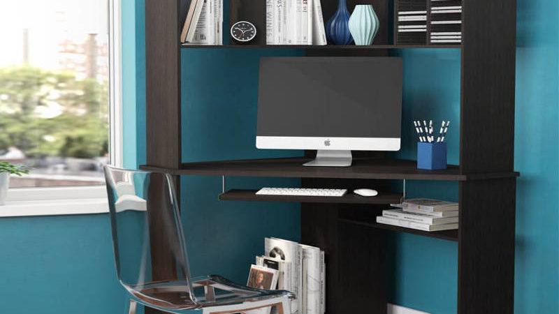 10 Small Corner Desks That Transform A Corner Into A Functional Small Home Office