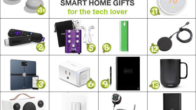 Freshome Holiday Gift Guide: Smart Home Gift Ideas For The Tech Lover
