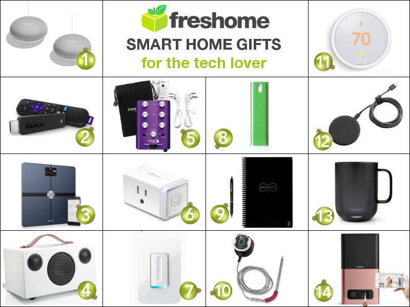 Freshome Holiday Gift Guide Smart Home Gift Ideas For The