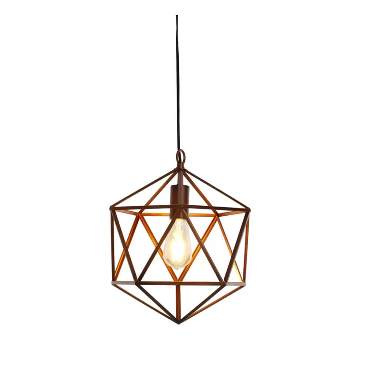 Contemporary bedside pendant