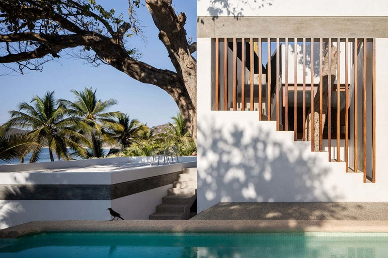 Beachfront Home in Mexico Offers a Tropical Escape