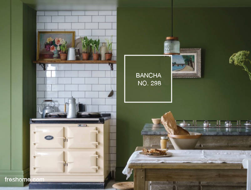 2019 color of the years and green paint ideas