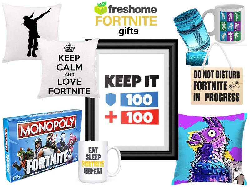 19 Fortnite Gifts For A Battle Royale Home | Freshome