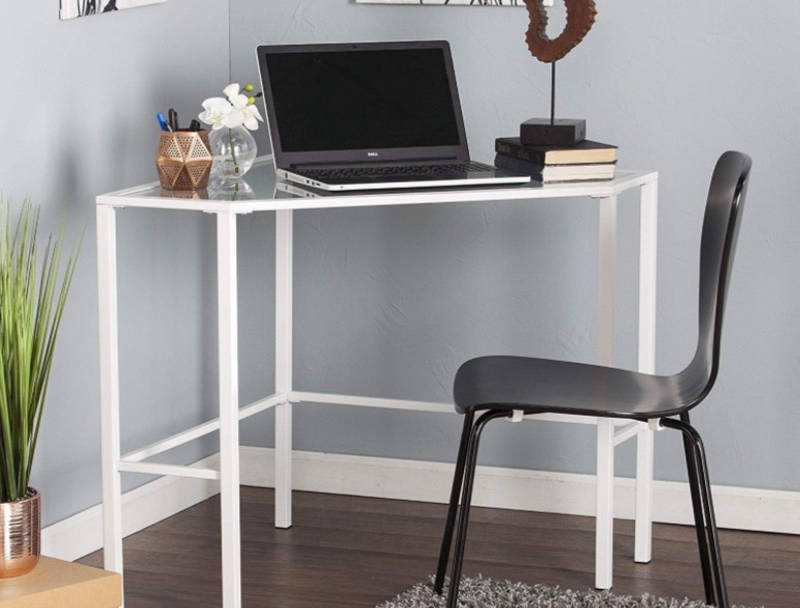 10 Small Corner Desks That Transform A Corner Into A