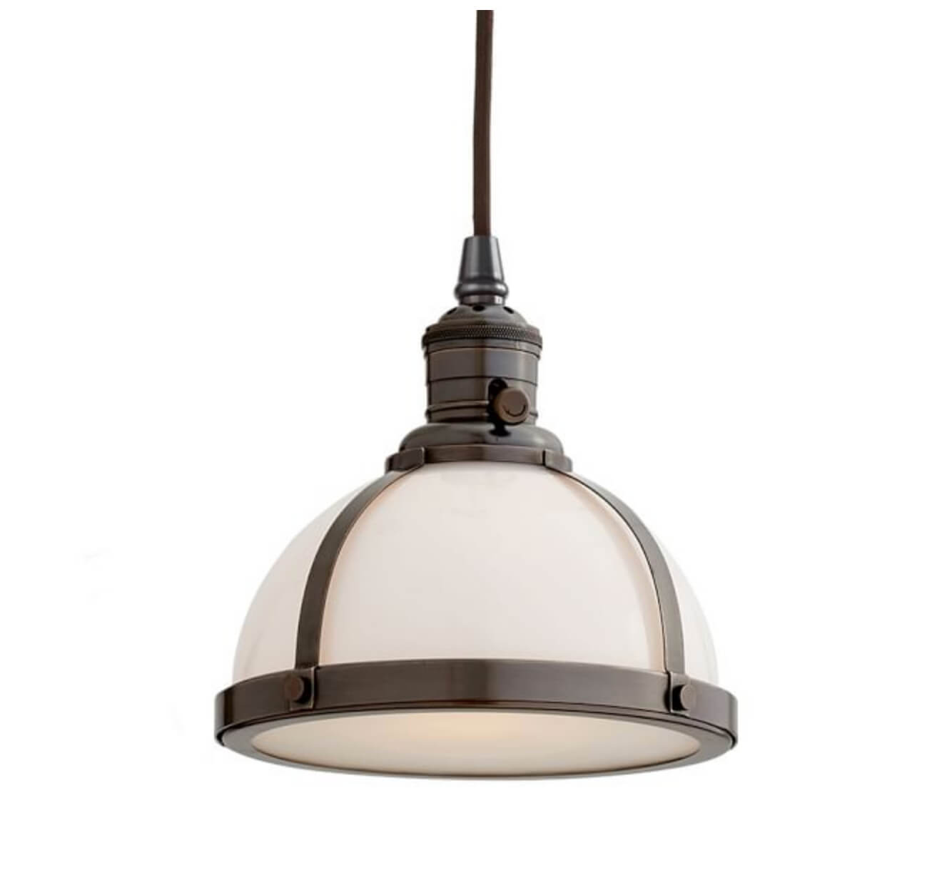 Industrial bedroom pendant
