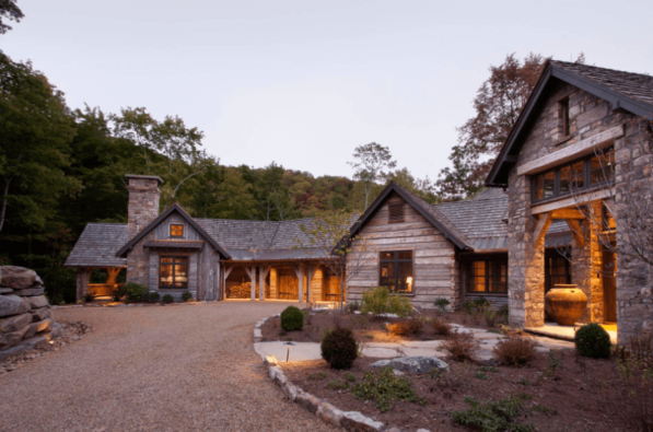 Barnwood home exterior