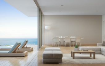 Sliding/Stackable Glass Doors Erase the Boundary Between Inside and Outdoors