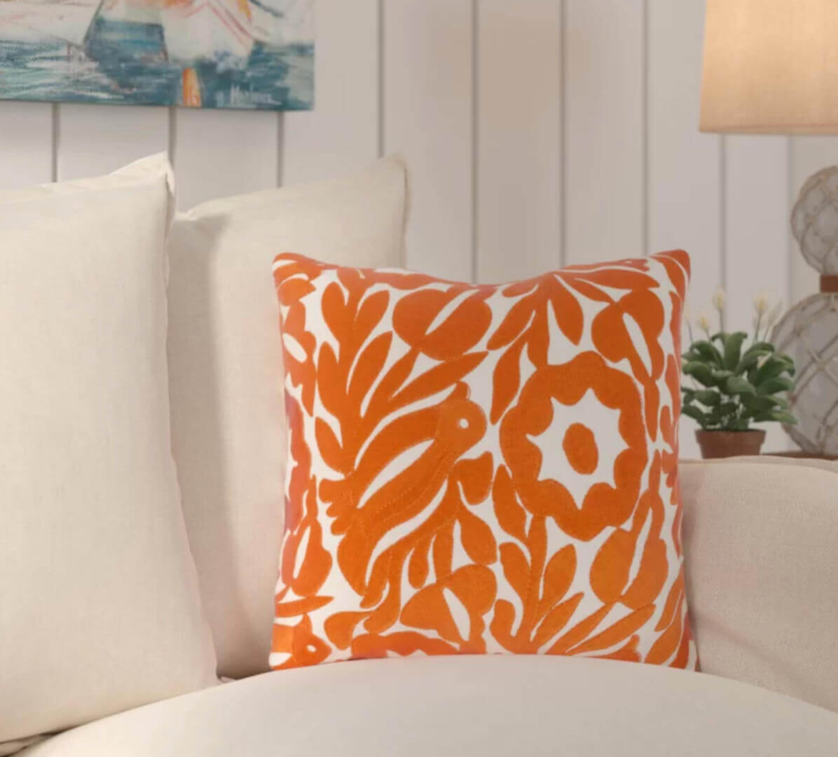 Living Coral Pillow