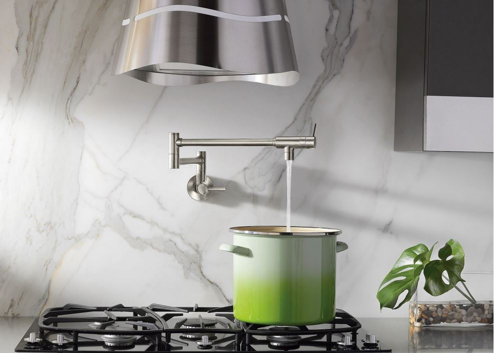 The Modern Pot Filler From Moen Image Courtesy Of