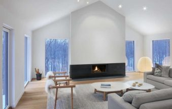 Ski Chalet in Canada Features Elegant Detailing