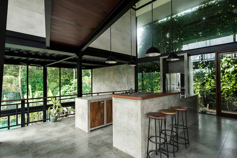 concrete waterfall countertops 2