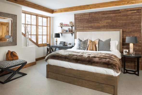 Modern guest room weekend host