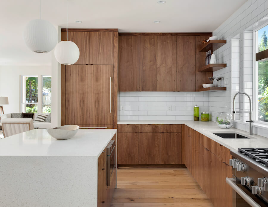 18 Wow-Worthy Waterfall Countertops to Inspire Your Next Kitchen Remodel