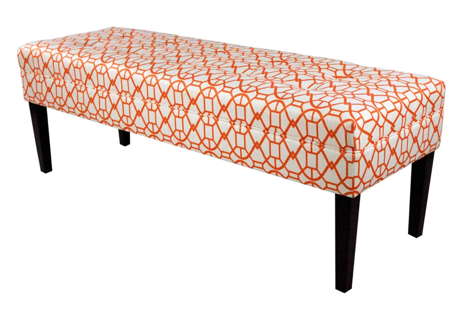 Living Coral Bedroom Bench