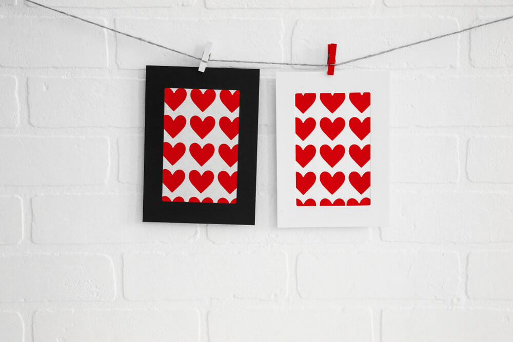 Decorate with Hearts Frame
