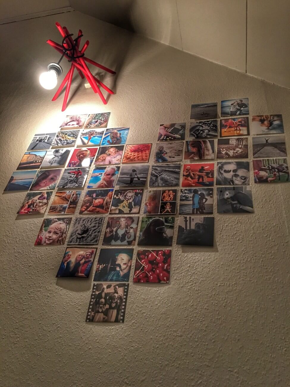 Decorate with Hearts Photo Collage