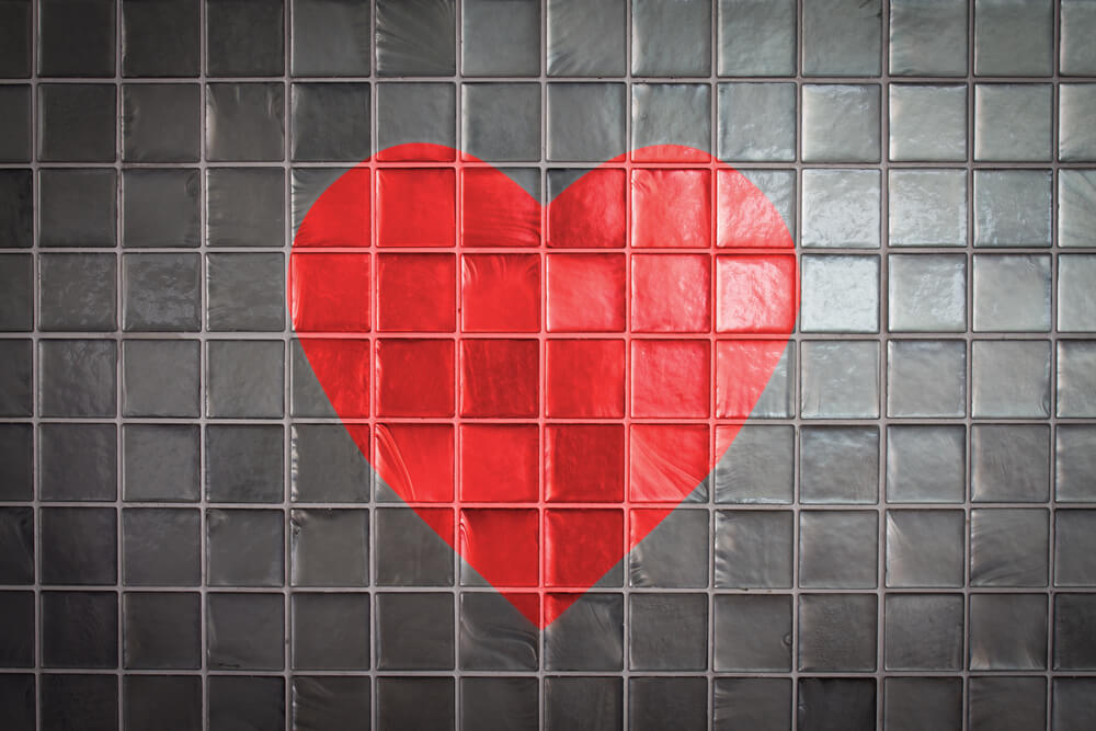 Decorate with Hearts Tile Design