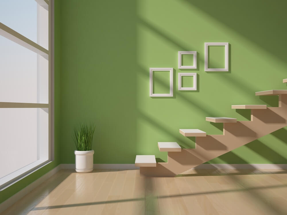Empty Frame Stairs Style