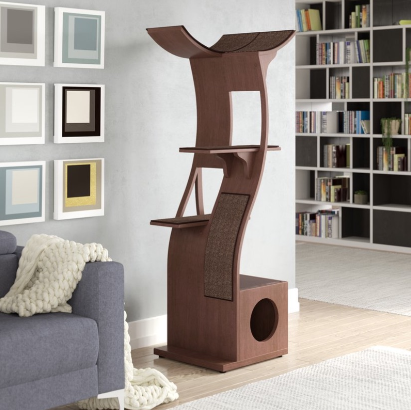 Interior Designs for Pet Lovers Cat Condo Modern