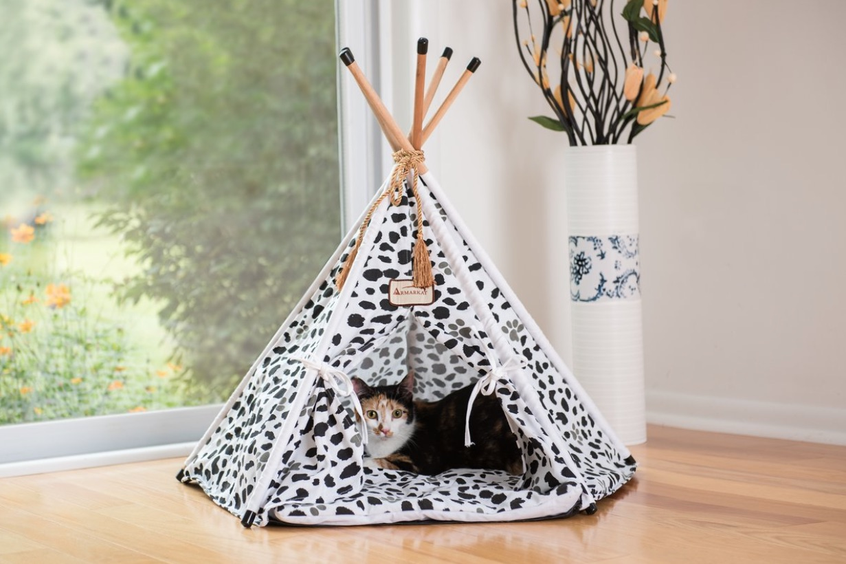 Interior Designs for Pet Lovers TeePee Bed