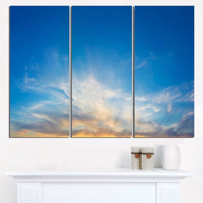 Interior Skyscapes Canvas Style