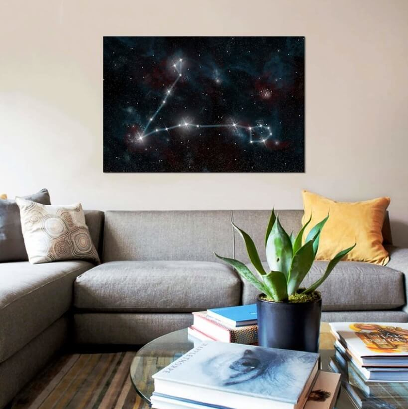 Interior Skyscapes LED Canvas Style