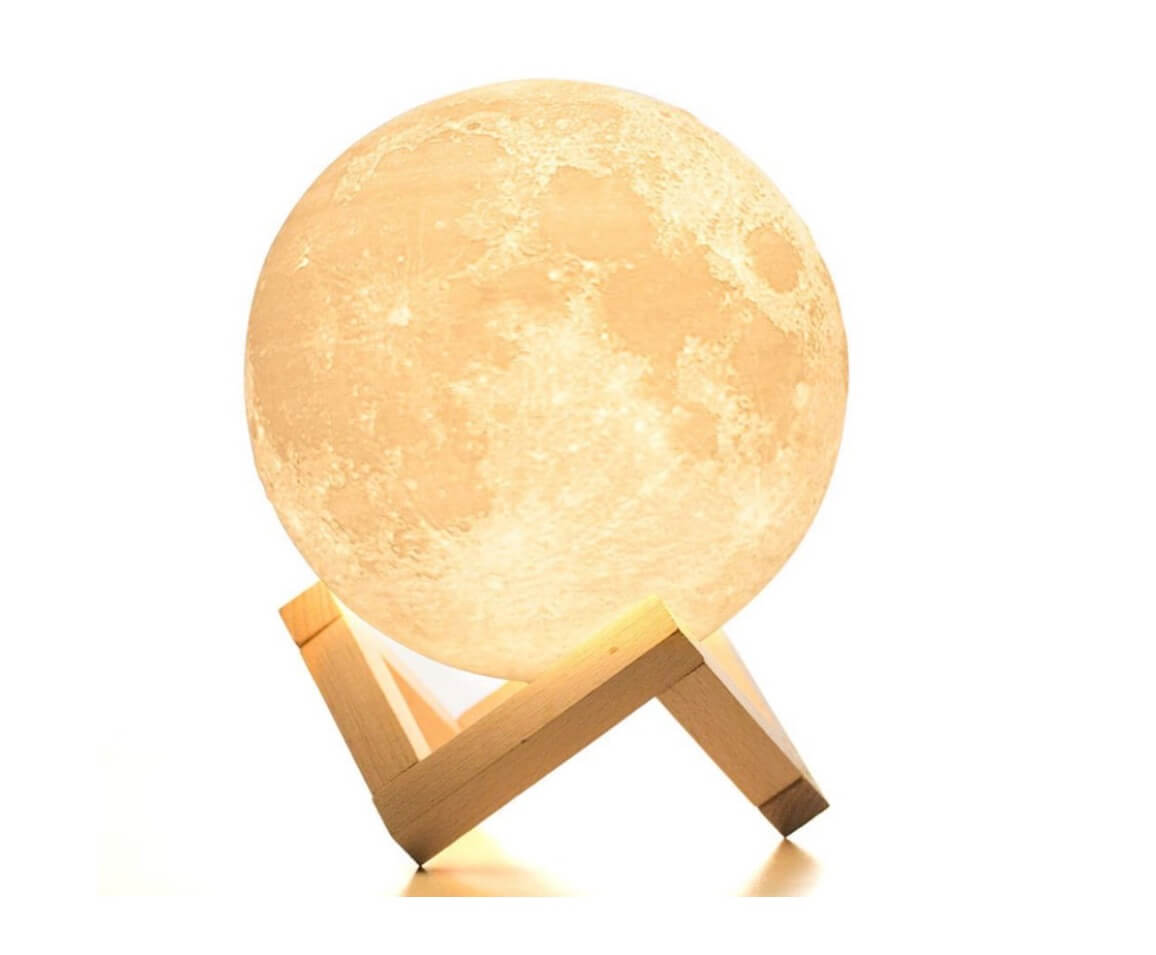 Interior Skyscapes Moon Lamp Style