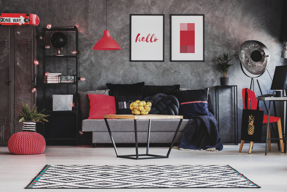 Modern Valentine's Day Accent Color