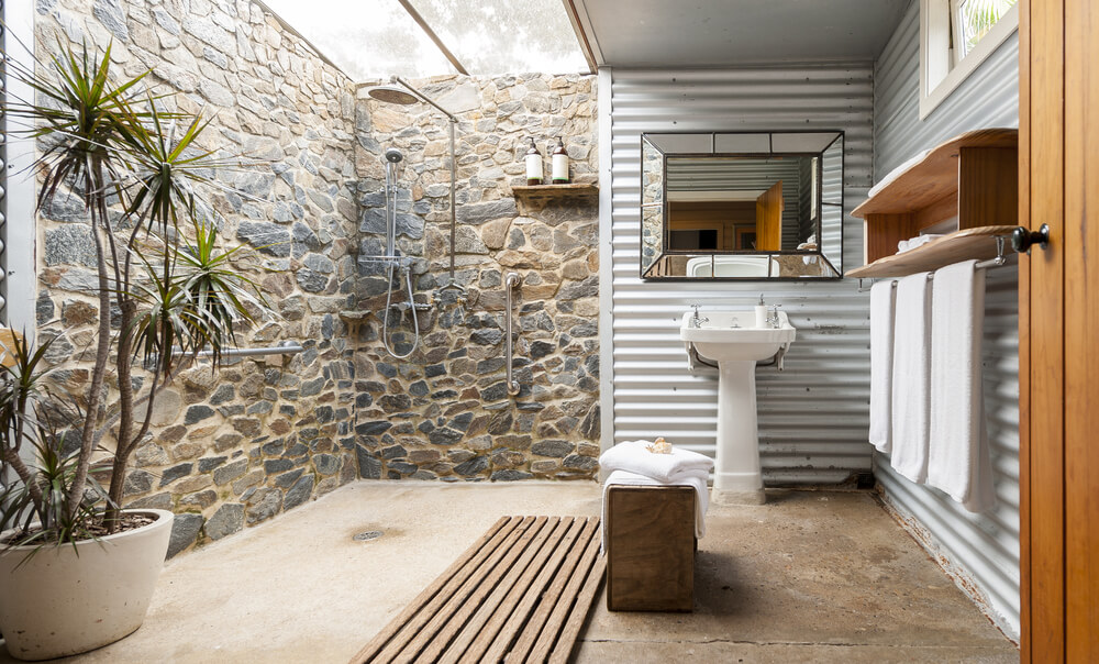 Open Design Showers Stone Style
