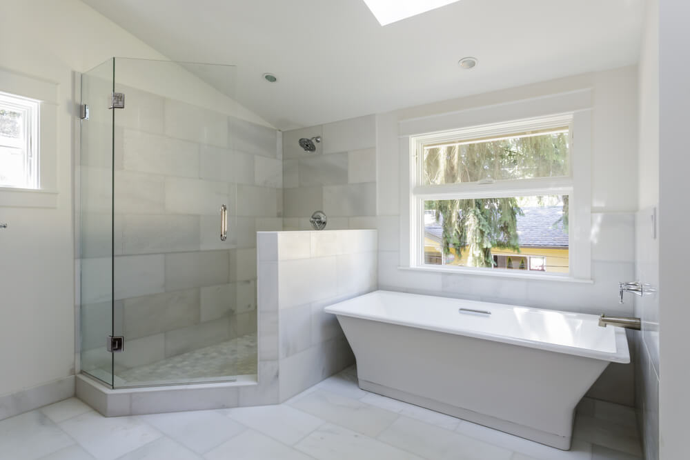 Open Design Showers Wall Style