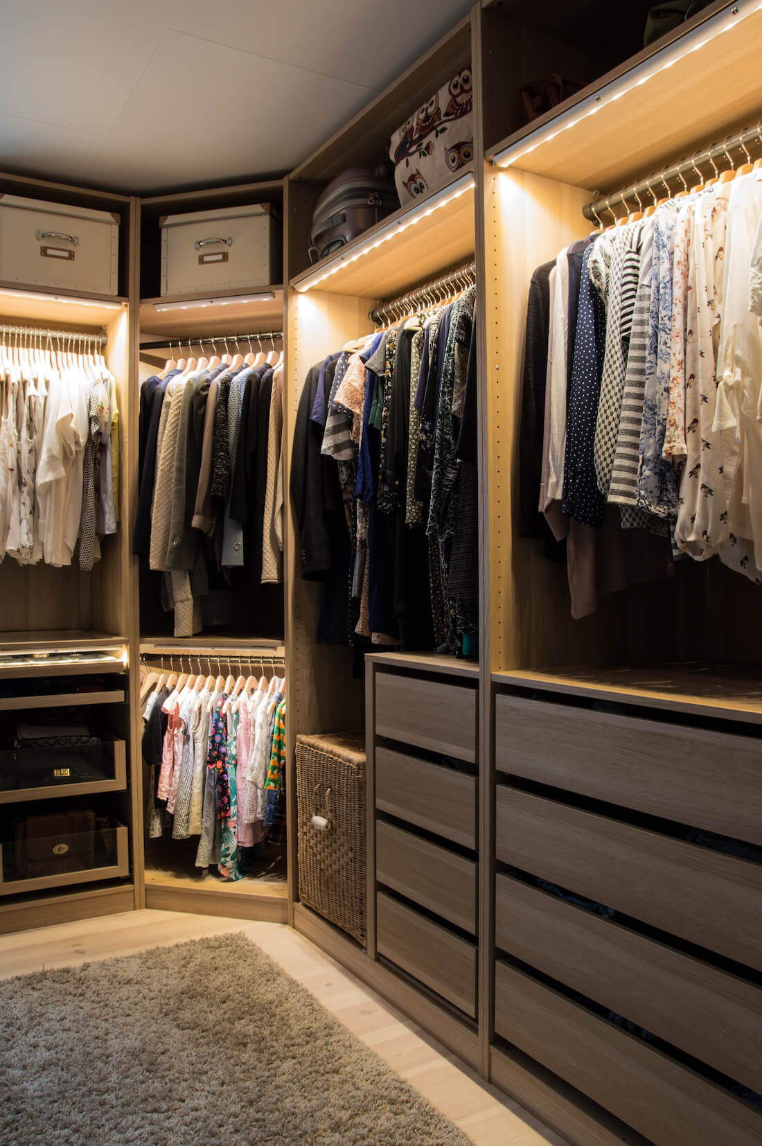 Closets For Your Home Wish List
