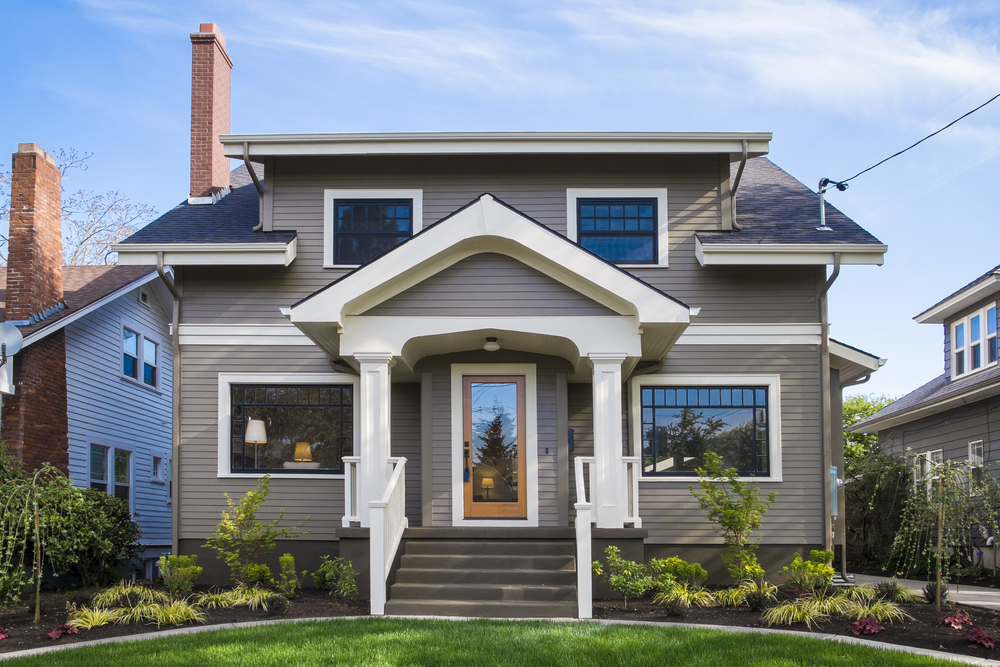 What classifies a house style what makes a bungalow home - What is a craftsman style house ...