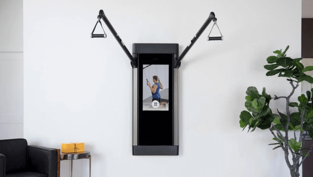 high-end workout equipment - tonal