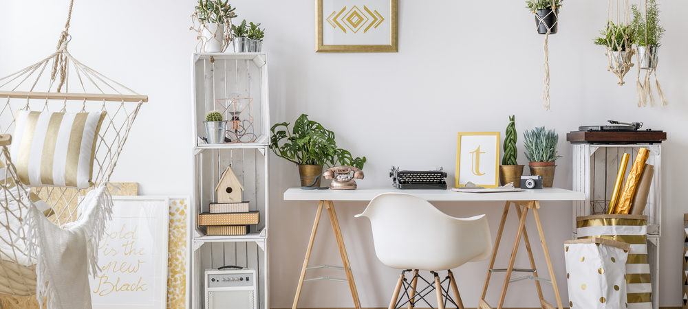 These 16 Gorgeous Home Office Design Ideas will give you Total Workspace Envy