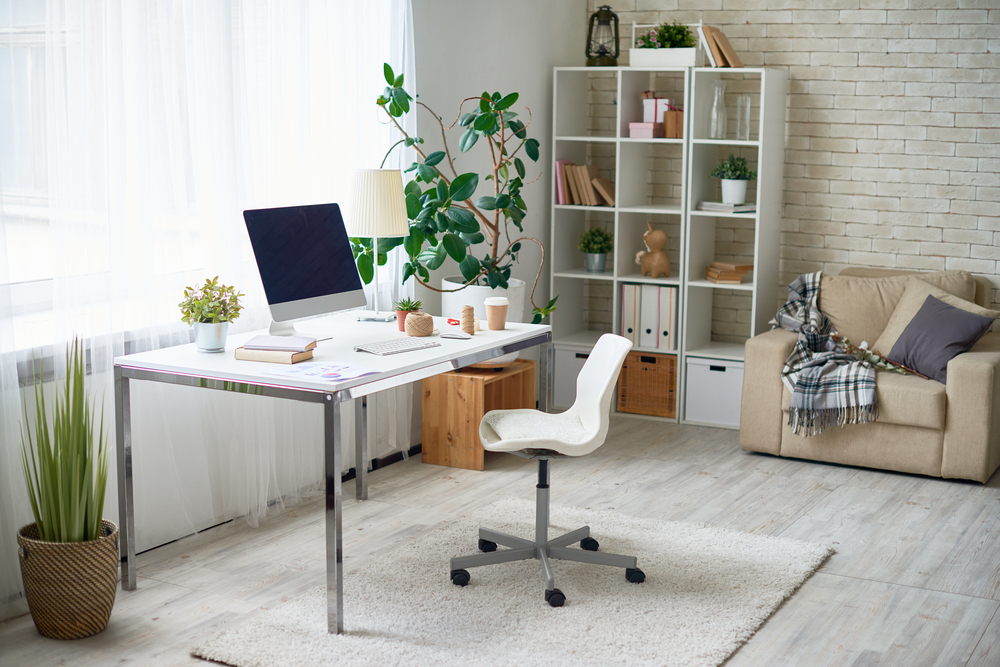 Office Space Decoration Ideas Follow these tips and tricks to design the ideal office space for you.  Image: SeventyFour-Shutterstock