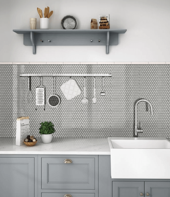 Pennies As Backsplash: 14 Rooms That Will Make You Fall In Love With Penny Tile