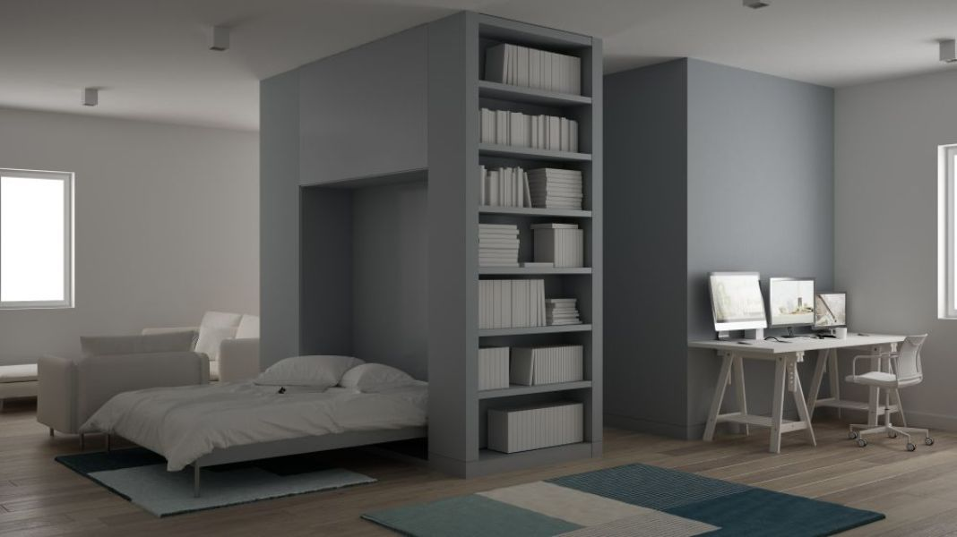 Murphy beds maximize small space