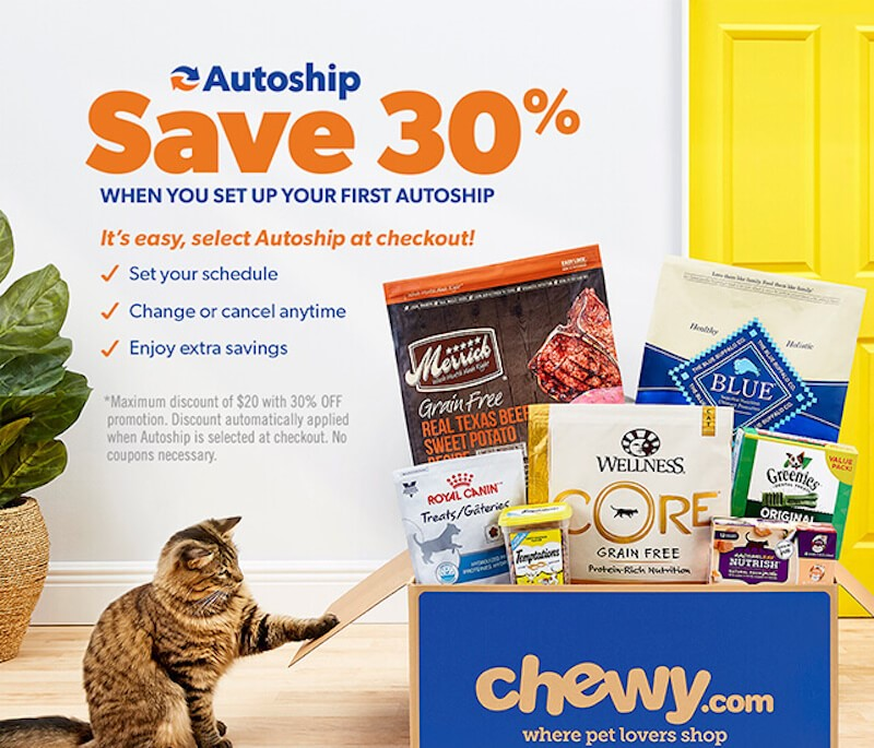 Chewy?s Autoship Helps You Build a Perfect Pet Gift Box