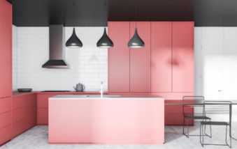 Make Pink Look Modern for an Updated Home