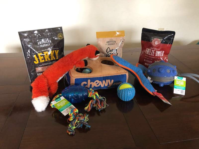 chewy goody box 1