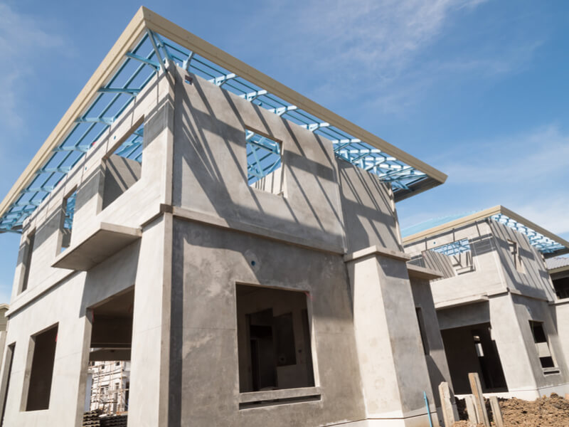 Prefabricated cement homes