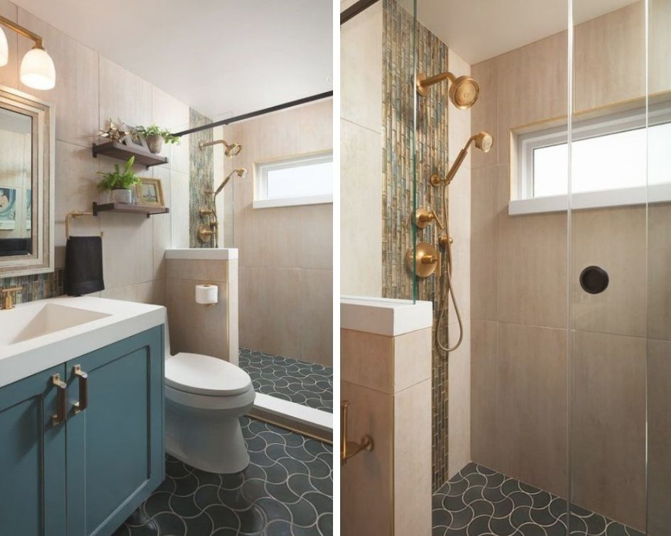 Bathroom designed by Nowell Vincent, CKBD; Photography by Chris Reilmann of Chris Reilmann Photography