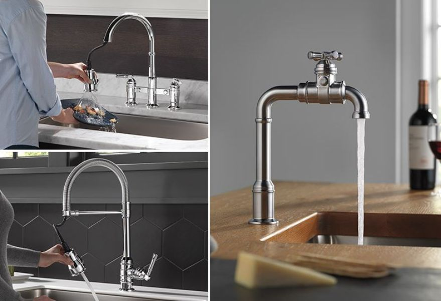Broderick Kitchen Faucet Collection by Delta