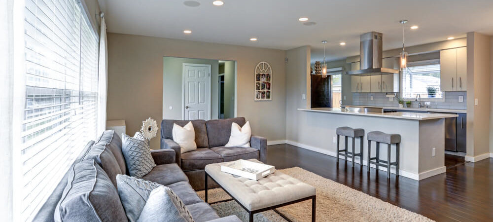 How to Make Your Partially Open Floor Plan Feel like a True Open Concept