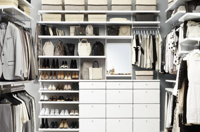 New Container Store Custom Closets Make Your Closet A Showpiece Quickly And Affordably