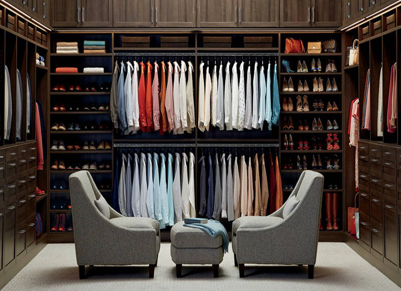 custom closets at container store